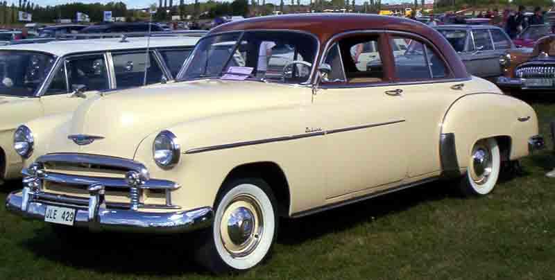 Les Chevrolet de 1949 à 1959 stock 1950_c10