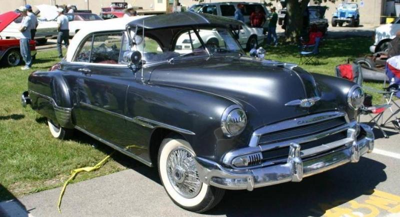 Les Chevrolet de 1949 à 1959 stock 1951-c10