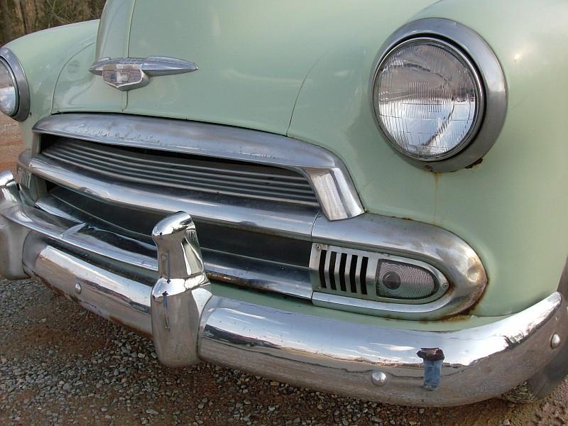 Les Chevrolet de 1949 à 1959 stock 1951ch10