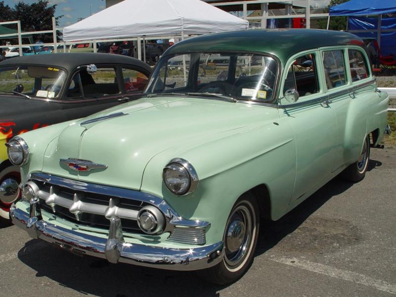 Les Chevrolet de 1949 à 1959 stock 1953-c12