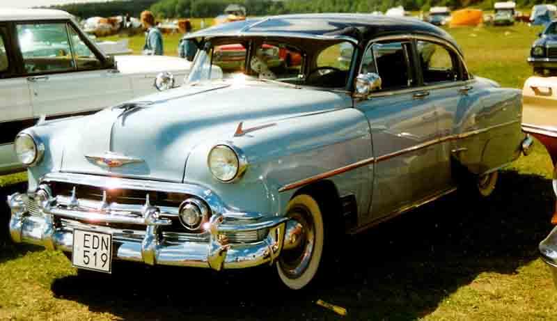 Les Chevrolet de 1949 à 1959 stock 1953_c10