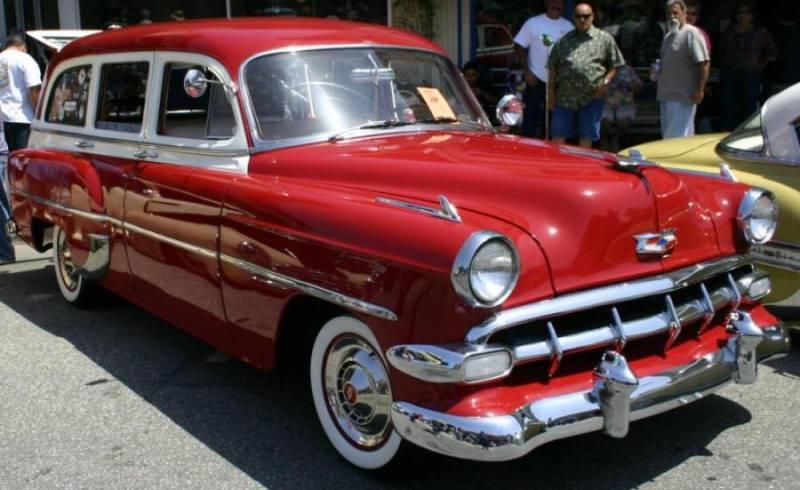 Les Chevrolet de 1949 à 1959 stock 1954-c10