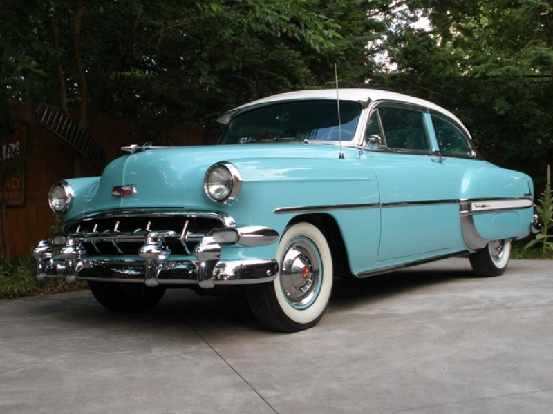 Les Chevrolet de 1949 à 1959 stock 1954-c11
