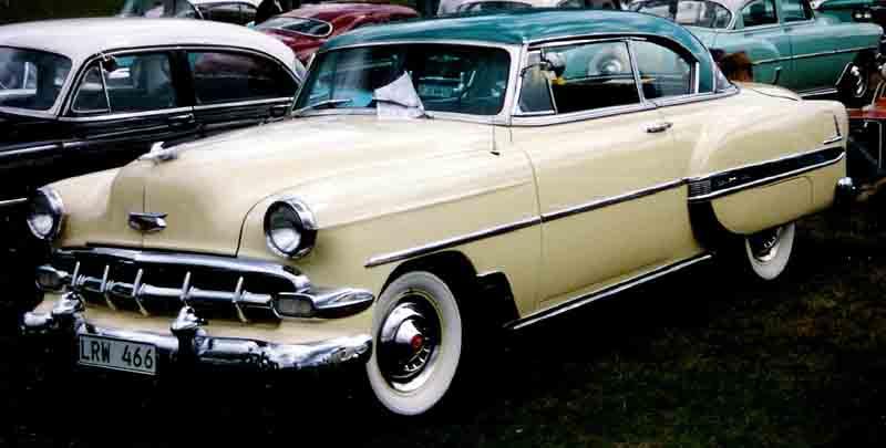 Les Chevrolet de 1949 à 1959 stock 1954_c10