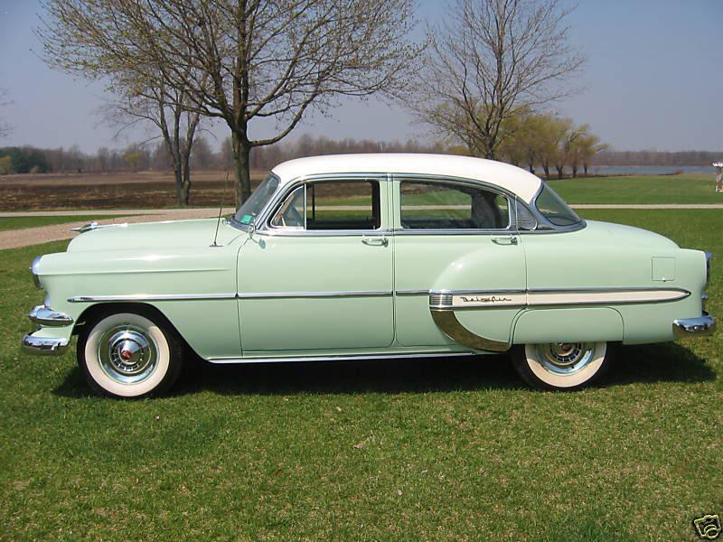 Les Chevrolet de 1949 à 1959 stock 1954ch10