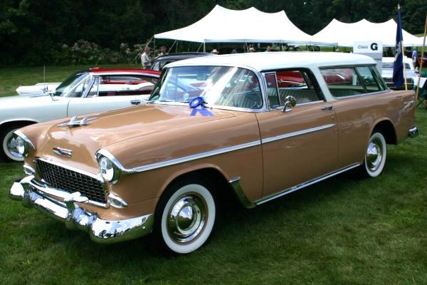 Les Chevrolet de 1949 à 1959 stock 1955-c10