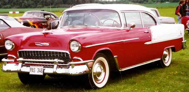 Les Chevrolet de 1949 à 1959 stock 1955_c10