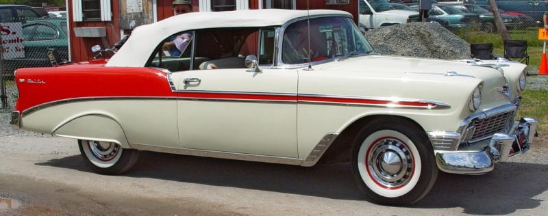 Les Chevrolet de 1949 à 1959 stock 1956-c10