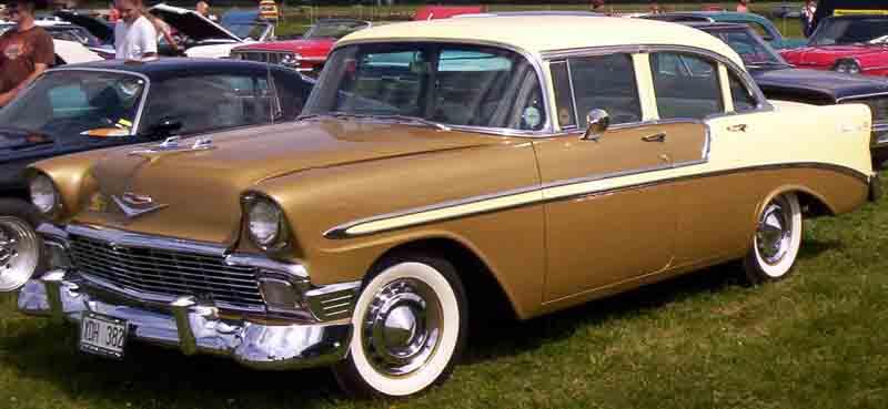 Les Chevrolet de 1949 à 1959 stock 1956_c10