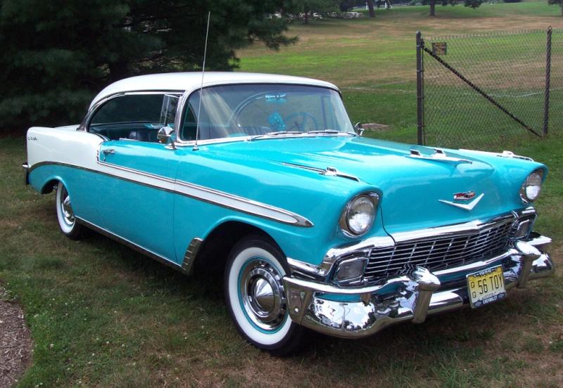 Les Chevrolet de 1949 à 1959 stock 1956_c11