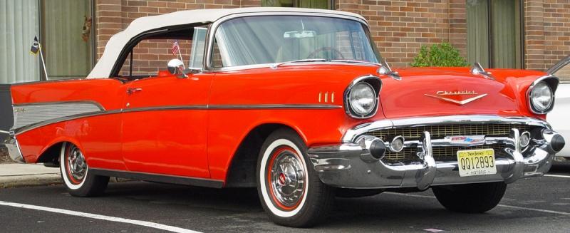Les Chevrolet de 1949 à 1959 stock 1957-c10