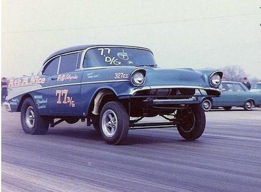 57' Chevy Gasser  19572010