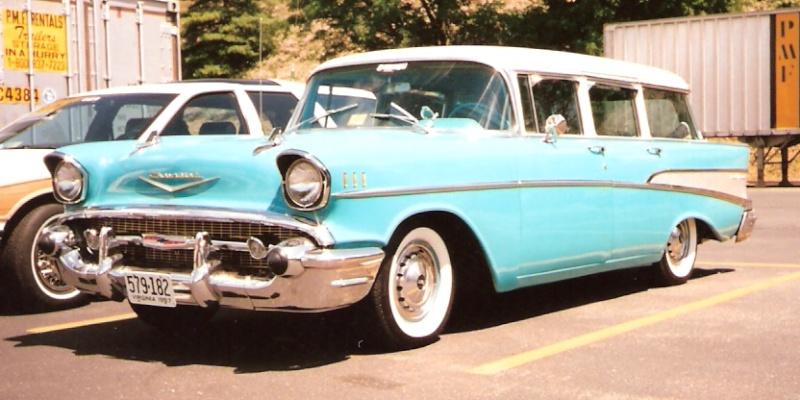 Les Chevrolet de 1949 à 1959 stock 1957_c10