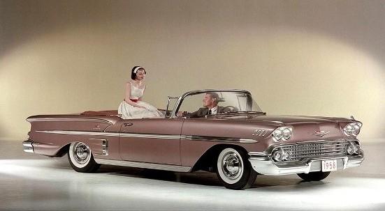 Les Chevrolet de 1949 à 1959 stock 1958-c10