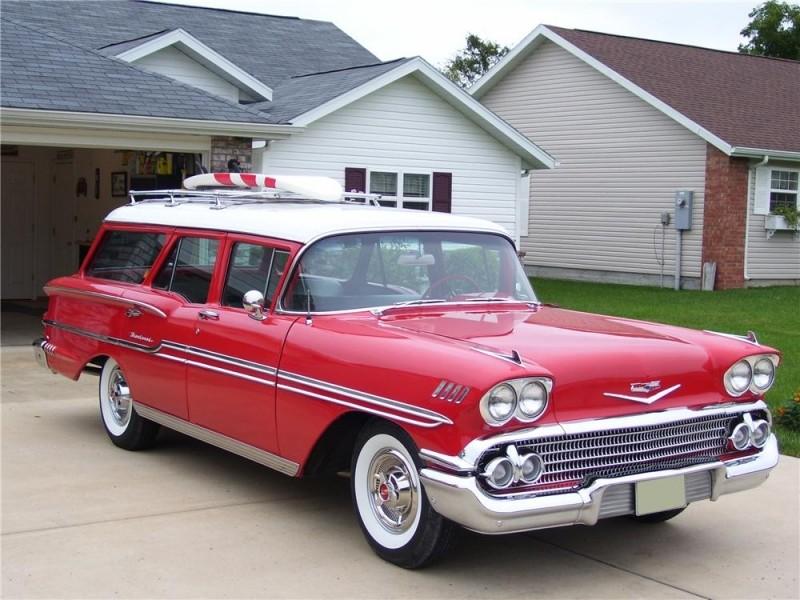 Les Chevrolet de 1949 à 1959 stock 1958_c10