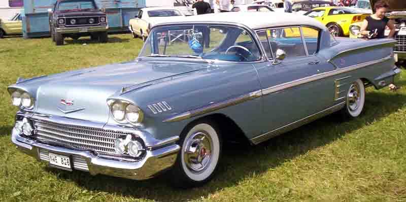 Les Chevrolet de 1949 à 1959 stock 1958_c11