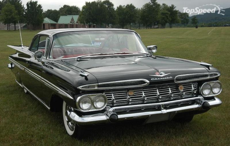 Les Chevrolet de 1949 à 1959 stock 1959-c10