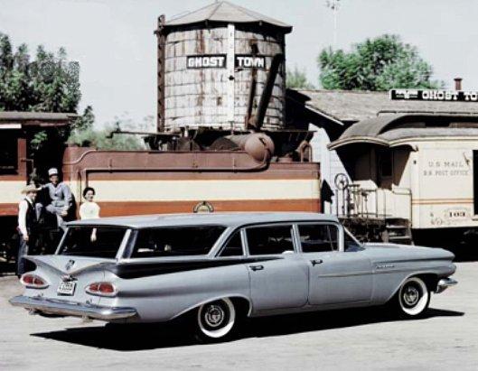 Les Chevrolet de 1949 à 1959 stock 1959_c10
