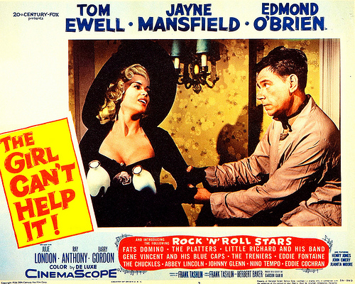 LA BLONDE ET MOI // THE GIRL CAN'T HELP IT - 1956 49160510