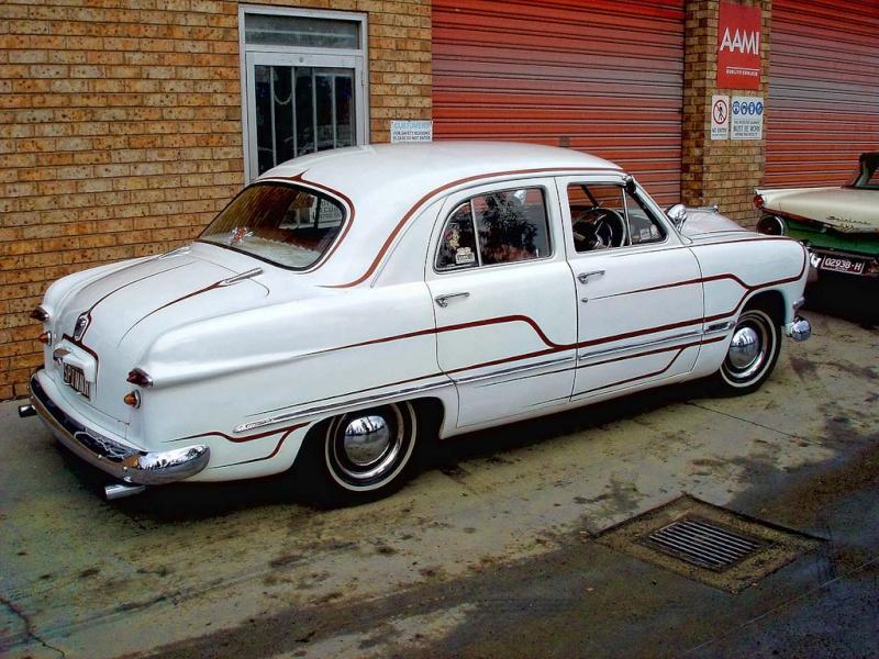 Ford 1949 - 50 - 51 (shoebox) custom & mild custom galerie 49414510