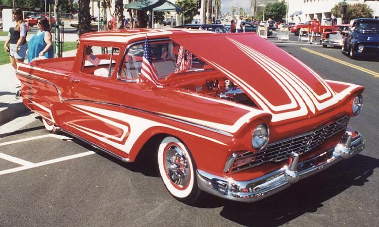 Ford 1957 & 1958 custom & mild custom  50-vi10