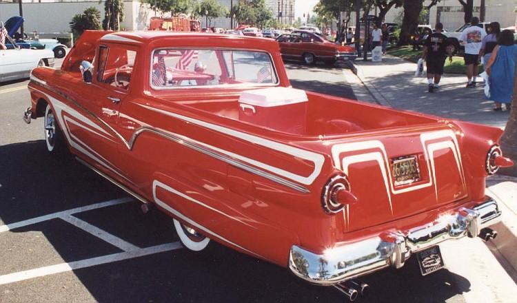 Ford 1957 & 1958 custom & mild custom  51-vi10