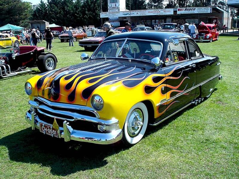 Ford 1949 - 50 - 51 (shoebox) custom & mild custom galerie 51282110