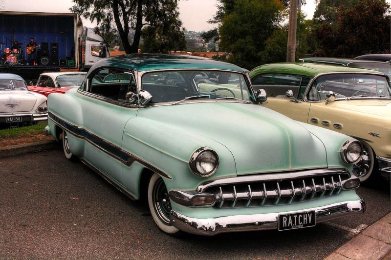 Chevy 1953 - 1954 custom & mild custom galerie 52736210