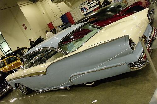 Ford 1957 & 1958 custom & mild custom  54504310
