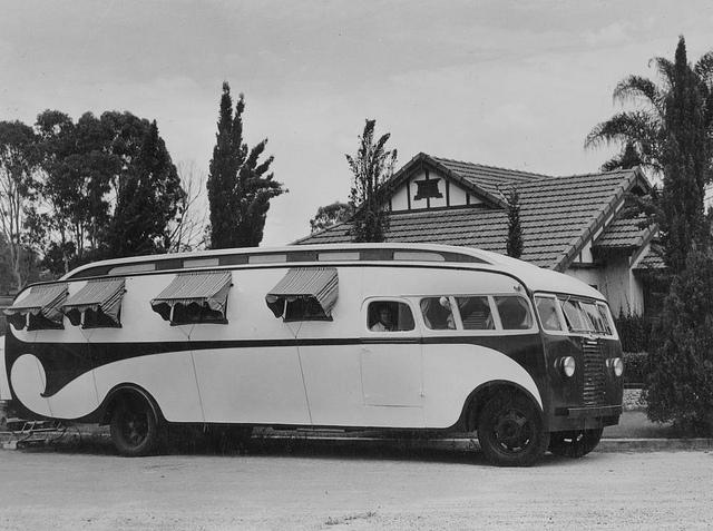 camping car vintage 55752510