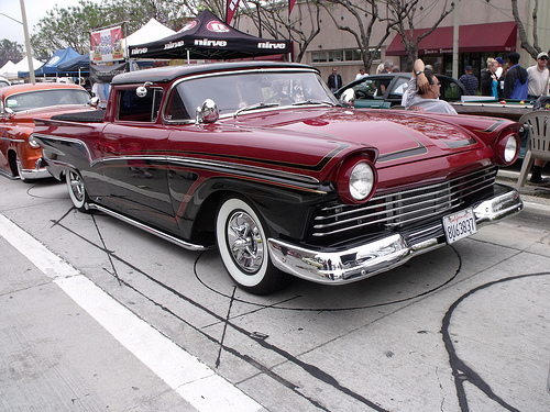 Ford 1957 & 1958 custom & mild custom  57290110