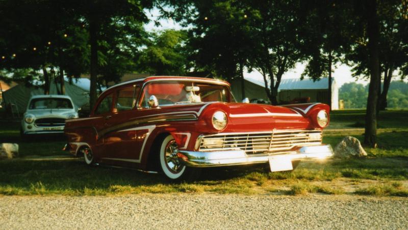 Ford 1957 & 1958 custom & mild custom  57ford10