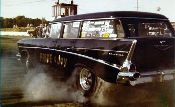57' Chevy Gasser  57wgn10