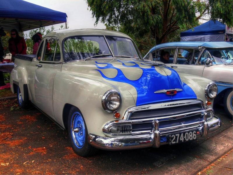Chevy 1949 - 1952 customs & mild customs galerie 65299910