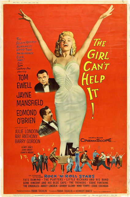 LA BLONDE ET MOI // THE GIRL CAN'T HELP IT - 1956 68661310