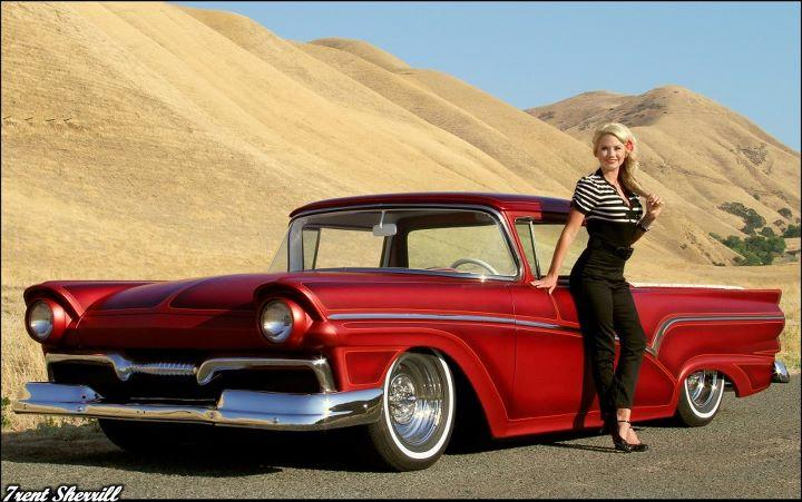 Ford 1957 & 1958 custom & mild custom  Allie910
