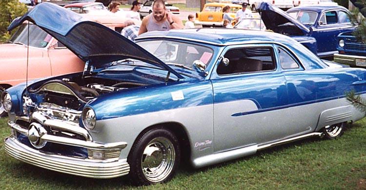 Ford 1949 - 50 - 51 (shoebox) custom & mild custom galerie Ark00210