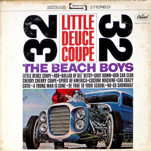 Rock and road disques avec une voiture sur la pochette Bb-ldc10
