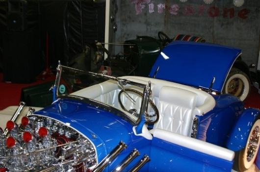 Mopar hot rod Blue2012
