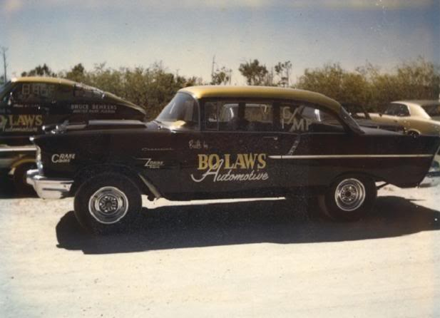 57' Chevy Gasser  Bolaws10