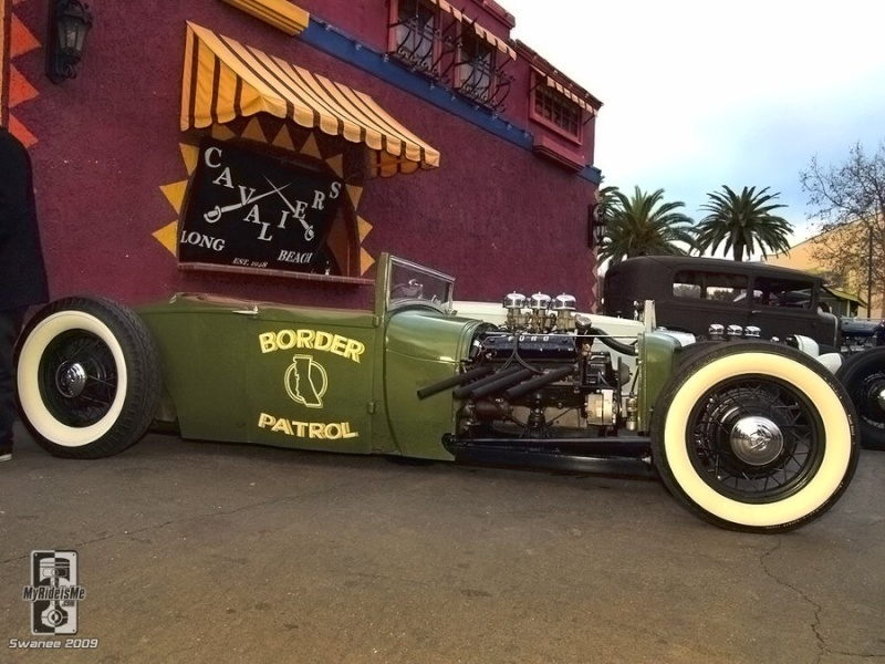 1928 - 29 Ford  hot rod Border10