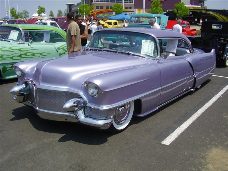 Cadillac 1954 -  1956 custom & mild custom Cad1010