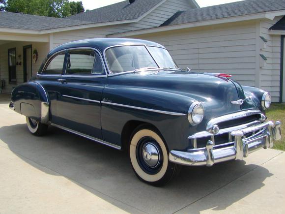 Les Chevrolet de 1949 à 1959 stock Chevro10