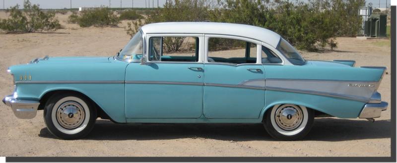 Les Chevrolet de 1949 à 1959 stock Chevro17