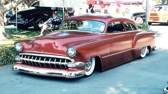 Chevy 1953 - 1954 custom & mild custom galerie - Page 2 Custom13