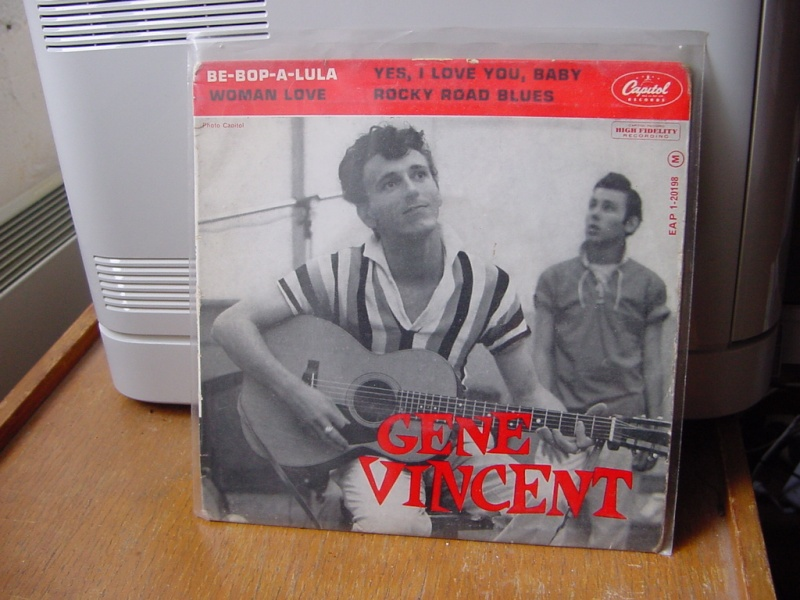 Gene Vincent records Dsc08933