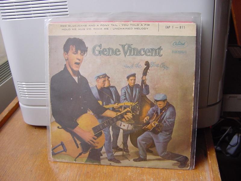 Gene Vincent records Dsc08934