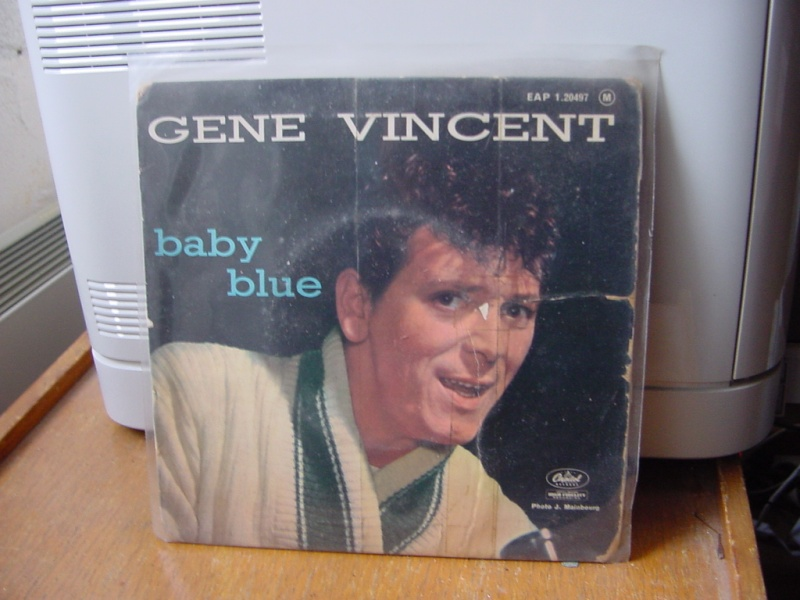 Gene Vincent records Dsc08935