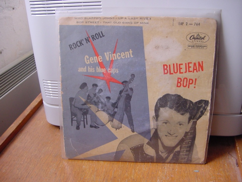 Gene Vincent records Dsc08936