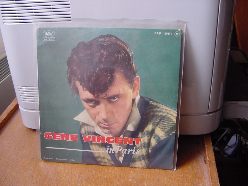 Gene Vincent records Dsc08937